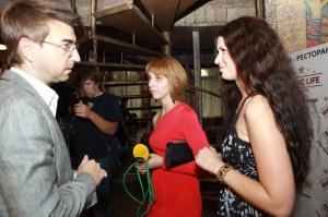 интервью 300x199 26 июля 2012г состоялась впервые в Воронеже Flirt Party «Магия любви».