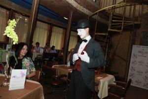 милена шарм и мим 300x200 26 июля 2012г состоялась впервые в Воронеже Flirt Party «Магия любви».