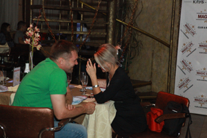 пара 1 26 июля 2012г состоялась впервые в Воронеже Flirt Party «Магия любви».